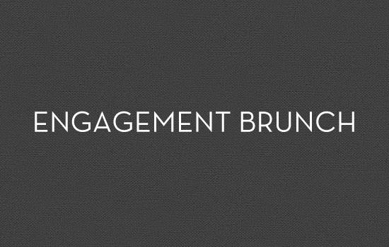 engagement brunch